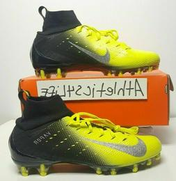 NIKE VAPOR UNTOUCHABLE PRO 3 FOOTBALL CLEATS BLACK/YELLOW/SI