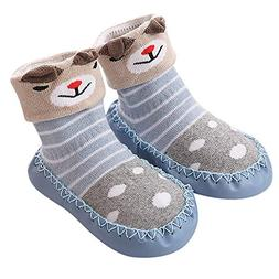 VEKDONE Cute Baby Boys Girls Toddlers Moccasins NON-SKID Ind