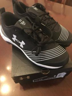 Under Armour W Glyde ST Black Metal Softball Cleats Size 8