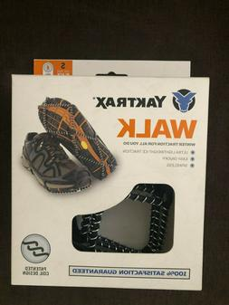 Yaktrax Walk traction cleats for snow/ice size SMALL Brand N