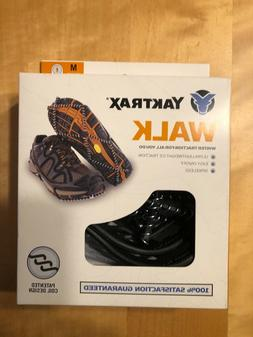 Yaktrax Walk traction cleats for snow/ice size M Brand NEW
