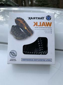 Yaktrax Walk Traction Cleats for Walking on Snow/Ice Size M