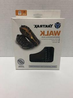 Yaktrax Walk Traction Cleats for Walking on Snow/Ice Size LA