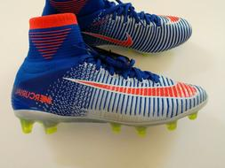 Nike Women's Mercurial Superfly V AG ACC Soccer Cleats Blue