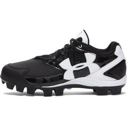 Under Armour Women's Softball Cleats Glyde RM Black Size 6.5