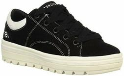 Skechers Women's Street Cleat-Back Again. Contrast Stitch Su