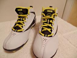 WARRIOR VEX  YOUTH ATLETIC SHOES/CLEATS LACROSSE WHITE/BLACK