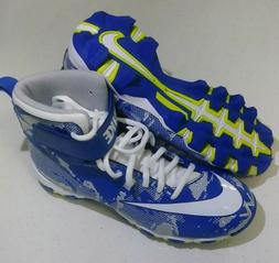 Nike Youth Football/Lacrosse Cleats Blue/White/Gray Youth Si