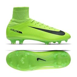 Nike Kids Jr. Mercurial Superfly V FG Soccer Cleat  Electric